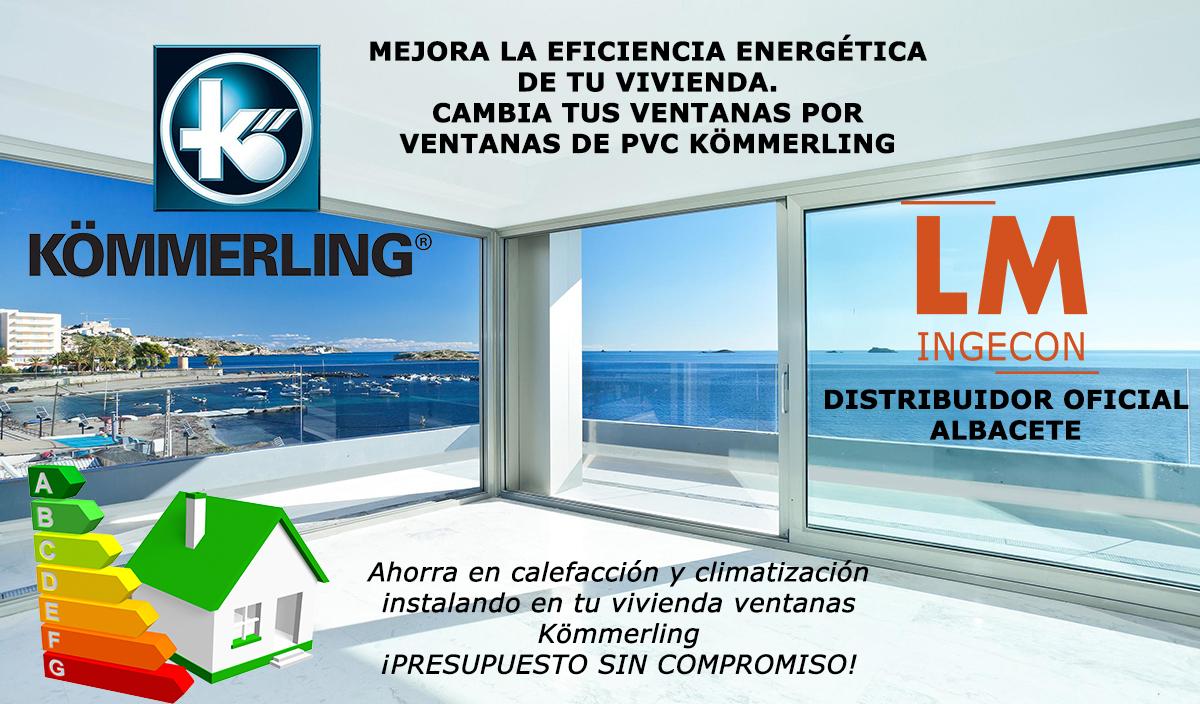 Distribuidor oficial Kömmerling en Albacete