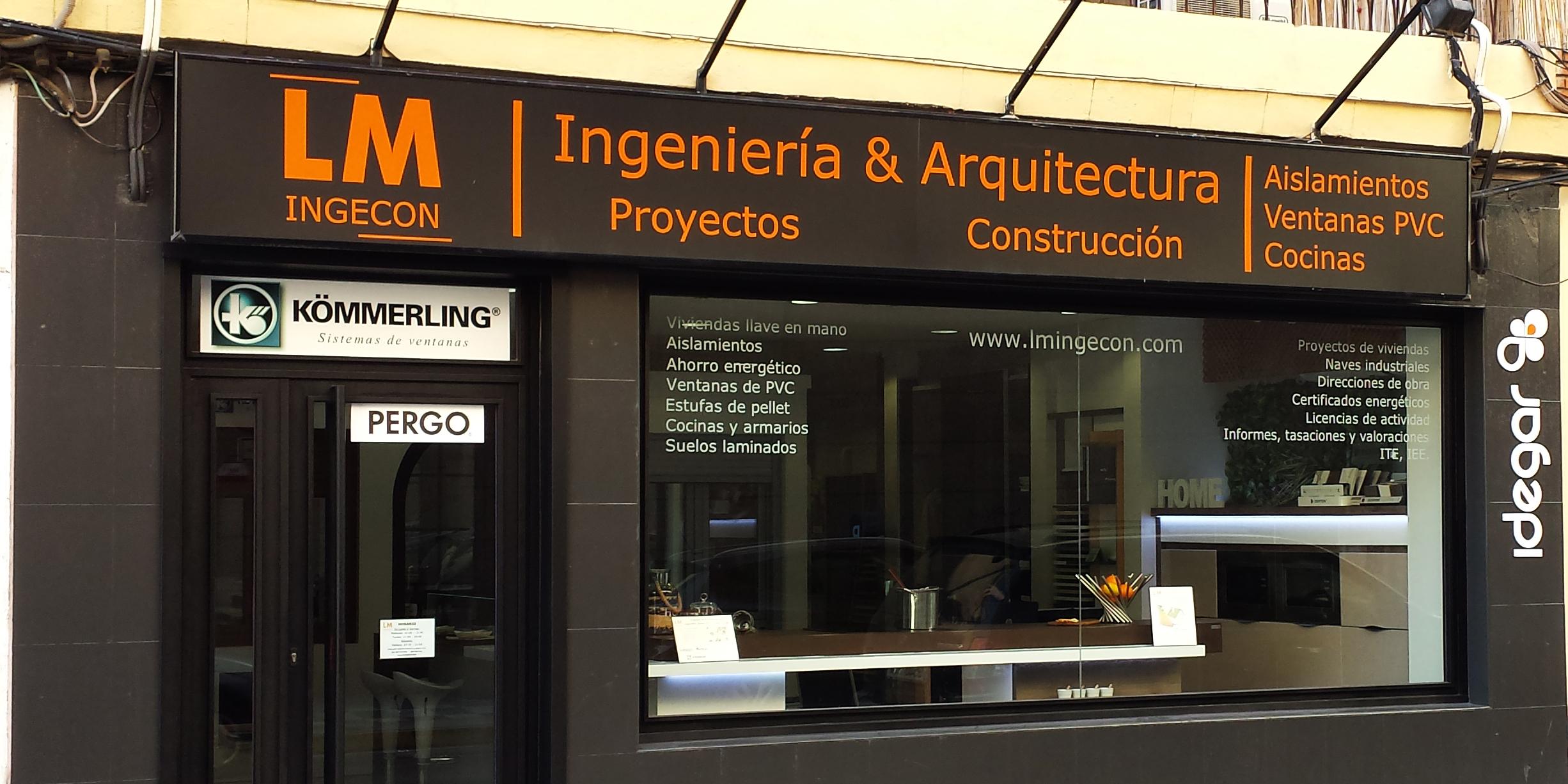 Fachada LM INGECON Albacete